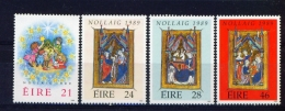 IRELAND  -  1989  Christmas  Set  Unmounted/Never Hinged Mint - 1949-... Republik Irland