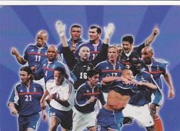 EQUIPE DE FRANCE DE FOOTBALL Essence TOTAL Et ELF ,F.F.F. ,ZIDANNE,BARTHEZ,HENRI Et Autres - Soccer