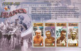 Gambia. 2003. Sport. Cycling.Tour De France  Michel. 4950-53. MNH.25457 - Briefmarken