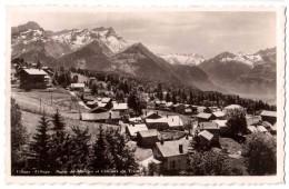 Villars - Village - Dents De Morcles Et Glaciers Du Trient - édit. E. Baatard 1014 + Verso - VD Vaud