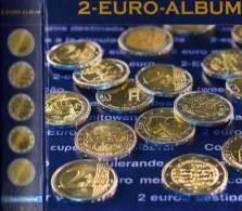 2€-Album Für Gedenkmünzen NUMIS Band II Europa 2008-2010 New 23€ Von 2EURO Wie A B D E FI F GR I L NL P SM Slo V Zy - Münzen