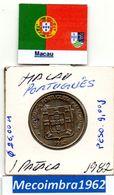 *MA.34 - 1 Pataca 1982  Macau Portugues - Colonia - Macau