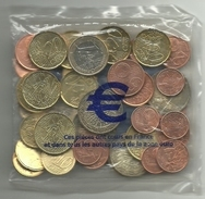 ESPAÑA LOTE DE EUROS SIN CIRCULAR (M.C.5.17) - Munten & Bankbiljetten