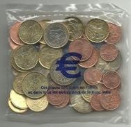 ESPAÑA LOTE DE EUROS SIN CIRCULAR (M.C.5.17) - Monete & Banconote