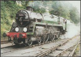 Mid-Hants Railway Standard '5' 4-6-0 No 73096 - Railway Modeller Magazine Postcard - Trains