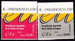 2010,  Spanien, 4487/88,  Vorsitz Spaniens Im Rat Der Europäischen Union.  MNH ** - 1931-Aujourd'hui: II. République - ....Juan Carlos I