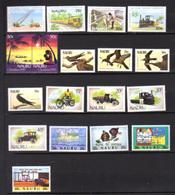 1985-87  Nauru, Séries  Yv. 305 / 335**, Cote 55 €, - Nauru