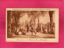 Madagascar, Congrégation Des Soeurs De Saint-Joseph De Cluny, Heure De Détente (Oubanghi), Animée, (Iung & Cie) - Madagascar