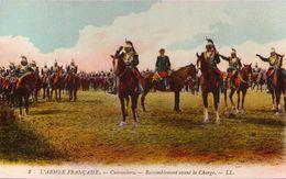 L'Armée Française - Cuirassiers - Rassemblement Avant La Charge - Régiments