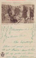 BELGIÊ/BELGIQUE:1919: Gelopen Brief Met Afbeelding Van De Loopgrachten  Tijdens Wereldoorlog I: W.O. I,First WAR, ... - Unclassified