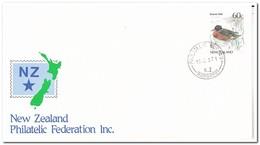 Nieuw Zeeland 1987, Philatelic Federation, Duck - Nieuw-Zeeland