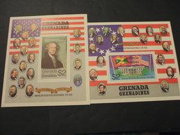 GRENADA/GRENADINES - 2 BF 1975 INDIPENDENZA U.S.A. - NUOVI(++) - Grenada (1974-...)
