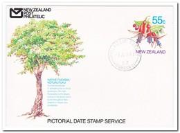 Nieuw Zeeland 1990, Philatelic Bureau Wanuanui, Native Fuchsia - Nieuw-Zeeland