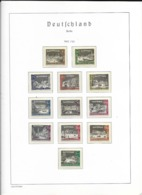Berlin MNH Collection 1960-1990 In Leuchtturm Album - Stamps
