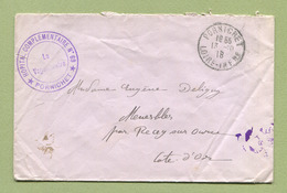 "PORNICHET  : "" HOPITAL COMPLEMENTAIRE N° 69 ""  1918 - Marcophilie (Lettres)"