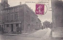 SPINCOURT ,rue De L(hotel De Ville - Spincourt