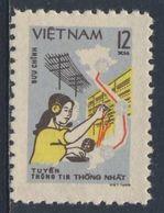 Vietnam 1980 Mi 1123 YT 251 **Telephone Switchboard Operator - Telecommications / Telefonvermittlung - Fernmeldetag - Vietnam