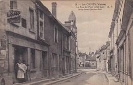 Les ORMES ,la Rue Du Pont - France