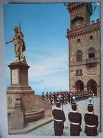 REPUBLICA DI SAN MARINO / LES MILICES EN UNIFORME/ JOLIE CARTE PHOTO - Saint-Marin