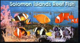Solomon Islands 2001 Reef Fish MS, MNH, SG 1002 (B) - Salomoninseln (Salomonen 1978-...)