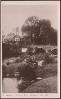 Old & New Bridges, Dartmeet, Devon, C.1910 - Kingsway RP Postcard - Other