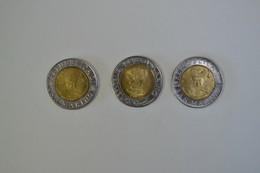 Repubblica Di San Marino - 3 Monete Da Lire 500 - San Marino