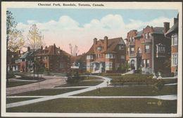 Chestnut Park, Rosedale, Toronto, Ontario, C.1920 - Valentine's Postcard - Toronto