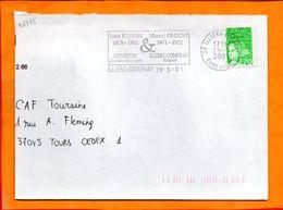 EURE ET LOIR, Illiers Combray, Flamme SCOTEM N° 16745, John Ruskin - Marcel Proust - Sellados Mecánicos (Publicitario)