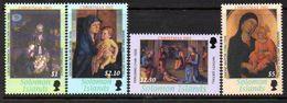 Solomon Islands 2002 Christmas Paintings Set Of 4, MNH, SG 1037/40 (B) - Solomon Islands (1978-...)
