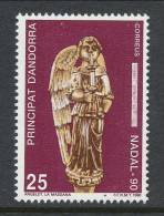 Andorra 1990, Spanish Post, Edifil # 222, MNH ** - Nuovi