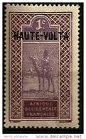 Haute Volta 1920 N° 1 Iso * Courant, Haut-Sénégal, Niger, Afrique Occidentale Française, Targui, Touareg, Dromadaire - Alto Volta (1958-1984)