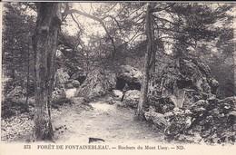 77-----forêt De Fontainebleau---rochers Du Mont Ussy---voir 2 Scans - Fontainebleau