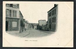 CPA - ORSAY - Rue Archangé, Animé  (dos Non Divisé) - Orsay