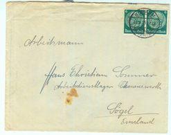 Arbeitslager Clemenswerth - 1935 Brief Aus Bochum Ins Arbeitsdienstlager - Deutschland