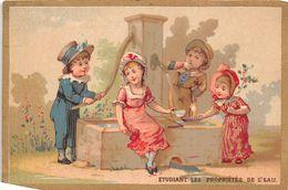 Chromo - Grands Magasins De Nouveautés à La Ville De PARIS - C. DELARUE, Versailles - Propriétés De L'eau - Chromos