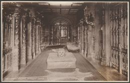 The Library Gallery, Taymouth Castle, Perthshire, C.1920 - RP Postcard - Perthshire