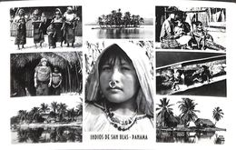Panama - Indios De San Blas (Multi Views Photo Postcard Kodak) - Panama