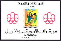 Libya 1976 Olympics Souvenir Sheet Unmounted Mint. - Libya