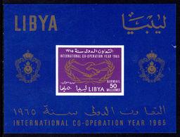 Libya 1965 ICY Souvenir Sheet Unmounted Mint. - Libye