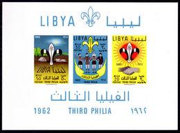 Libya 1962 Scouts Souvenir Sheet Unmounted Mint. - Libya