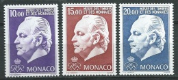 Monaco  - Série Yvert N° 2033  /  2035 **  - Aoa 14201 - Unused Stamps
