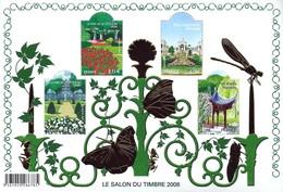 BLOC FEUILLET SALON 2008 - Blocs & Feuillets