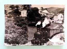 """Cpsm Stock Neuf """" Locomotive N°403 Des CFD Le Mastrou En Suivant L'Eyrieux"""" Coll C.Schnabel - Matériel"""