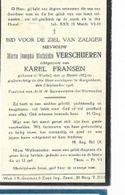 ZON13/ °WORTEL 1874 + BORGERHOUT 1926  MARIA VERSCHUEREN - Religion & Esotericism