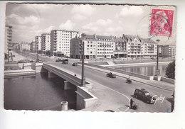 Ps- 14 - CAEN - Le Pont Churchill Sur L'Orne Et L'avenue Du 6 Juin - Voiture - Timbre - Cachet - 1957 - Caen