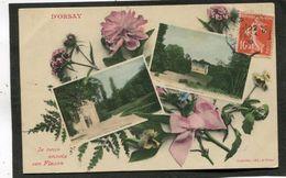 CPA - D'ORSAY Je Vous Envoie Ces Fleurs - Orsay