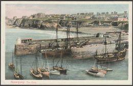 The Quay, Newquay, Cornwall, C.1905 - Peacock Postcard - Newquay