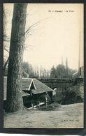 CPA - ORSAY - Le Pont, Animé - Lavoir - Orsay