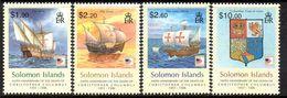Solomon Islands 2006 Christopher Columbus Set Of 4, MNH, SG 1179/82 (B) - Salomoninseln (Salomonen 1978-...)