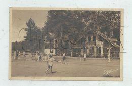 Saint-Brevin-l'Océan (44) : GP D'une Partie De Tennis Sur Le Cour Du Tennis-Club En 1945 (animé) PF. - Saint-Brevin-l'Océan